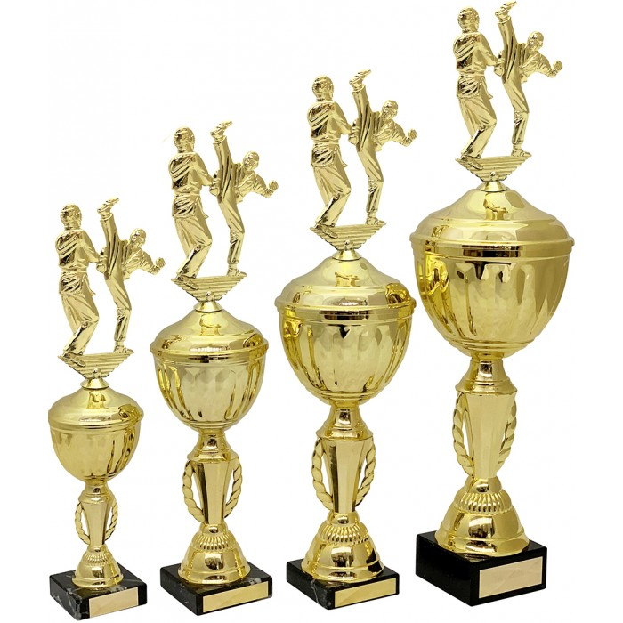 METAL TROPHY  - AVAILABLE IN 4 SIZES