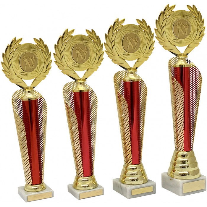 METAL CAGE TROPHY  - AVAILABLE IN 4 SIZES