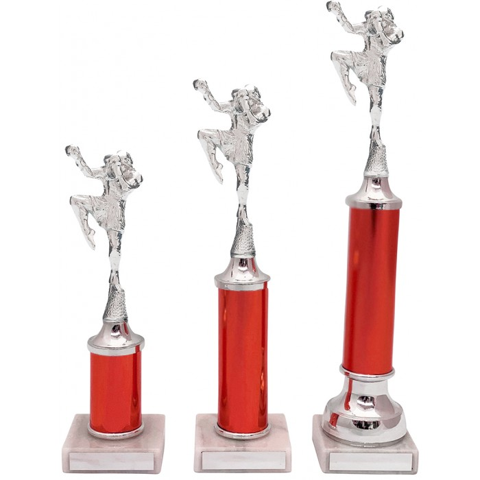 THAI BOXING METAL TROPHY  - AVAILABLE IN 3 SIZES