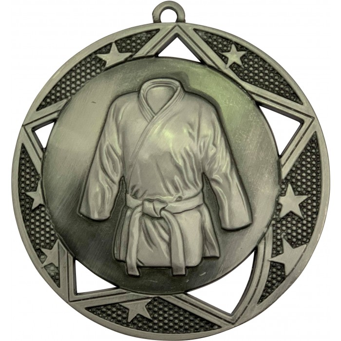 70MM X 2MM THICK MARTIAL ARTS MEDAL