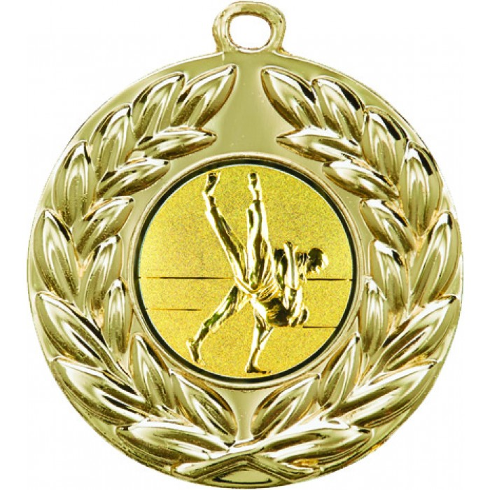 50MM JIU JITSU MEDAL - GOLD