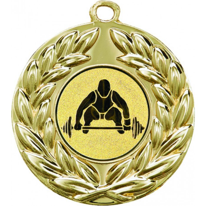50MM X 2MM THICK MEDAL