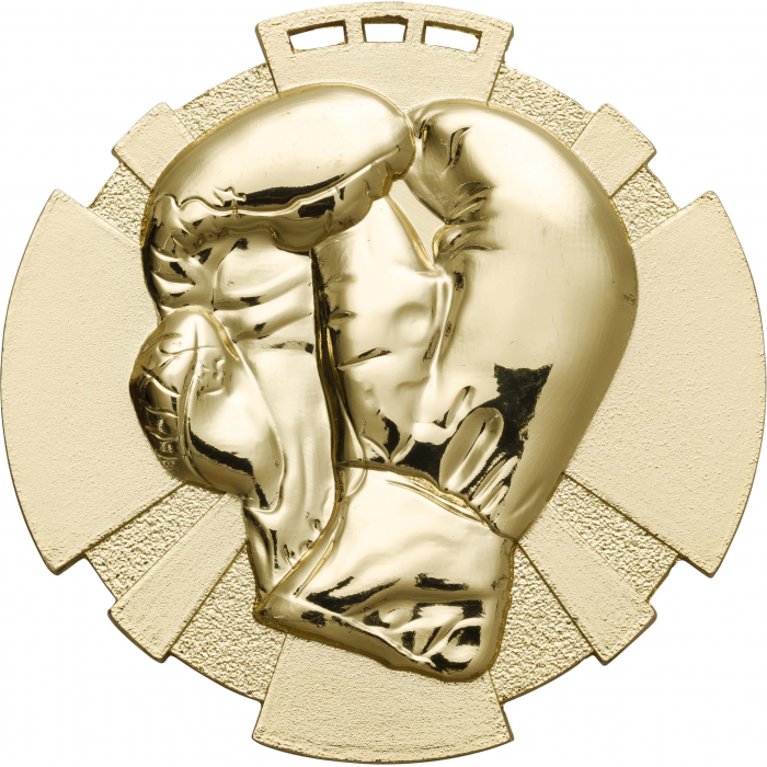 GOLD 80MM BOXING MEDAL