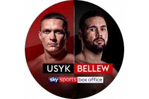 J.C.Trophies show Sky Sports News how we made the Bellew vs Usyk Box Office Championship belt.