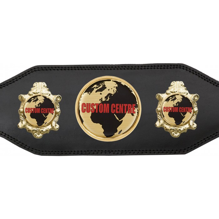 CUSTOM CHAMPIONSHIP BELT BUD003/G/CUSTOM - AVAILABLE IN 4 COLOURS