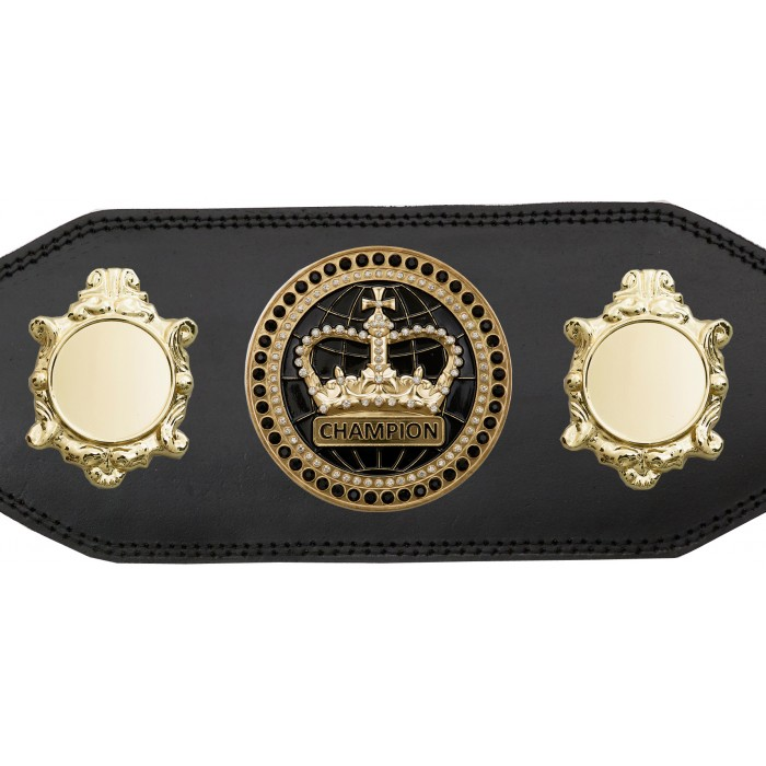CHAMPIONSHIP BELT - BUD003/G/BLKGEM - AVAILABLE IN 4 COLOURS