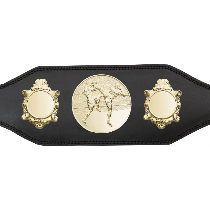 THAI BOXING CHAMPIONSHIP BELT-BUD003/G/TBOG-4 COLOURS