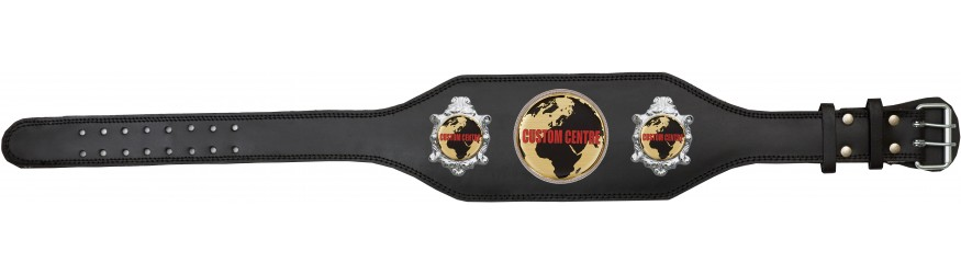 CUSTOM CHAMPIONSHIP BELT BUD003/S/CUSTOM - AVAILABLE IN 4 COLOURS