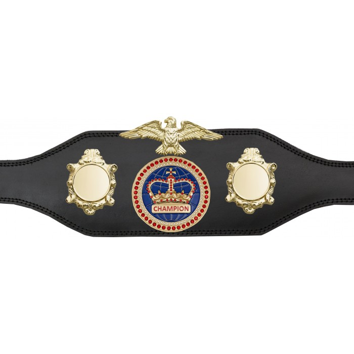 TITLE BELT - BUD004/G/BLUGEM - AVAILABLE IN 4 COLOURS