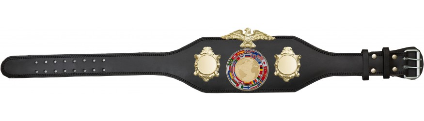 CHAMPIONSHIP BELT - BUD004/G/FLAG - AVAILABLE IN 4 COLOURS