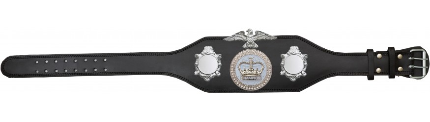 CHAMPIONSHIP BELT - BUD004/S/WHTGEM - AVAILABLE IN 4 COLOURS