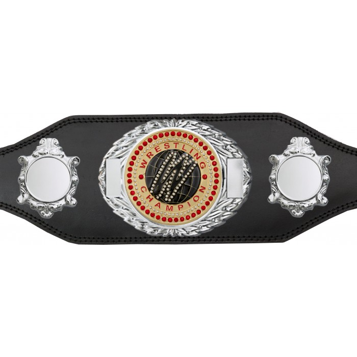 WRESTLING CHAMPIONSHIP BELT-BUD295/G/WRESTGEMG-4 COLOURS