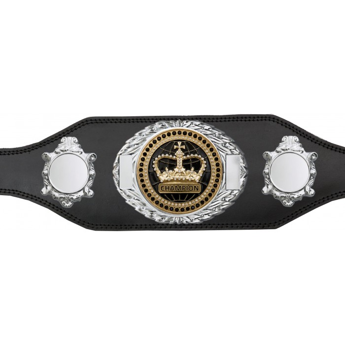 CHAMPIONSHIP BELT - BUD295/S/BLKGEM - AVAILABLE IN 4 COLOURS