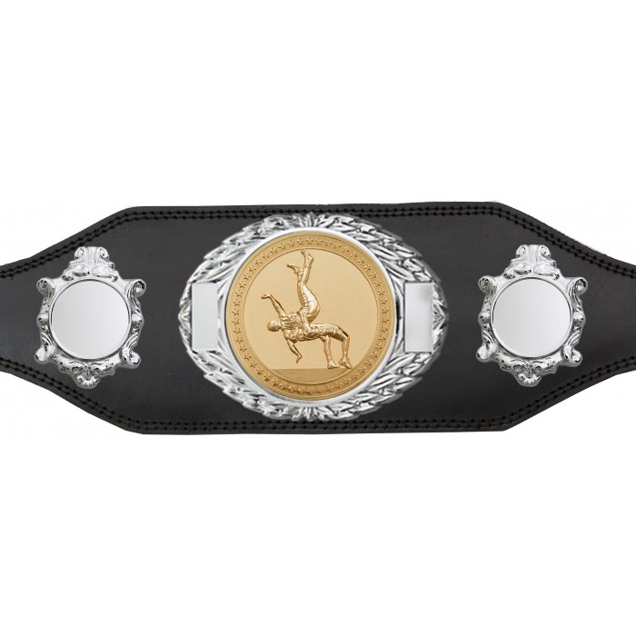 WRESTLING CHAMPIONSHIP BELT-BUD295/S/WRESTG-4 COLOURS