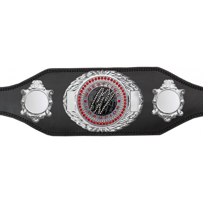 WRESTLING CHAMPIONSHIP BELT-BUD295/S/WRESTGEMS-4 COLOURS