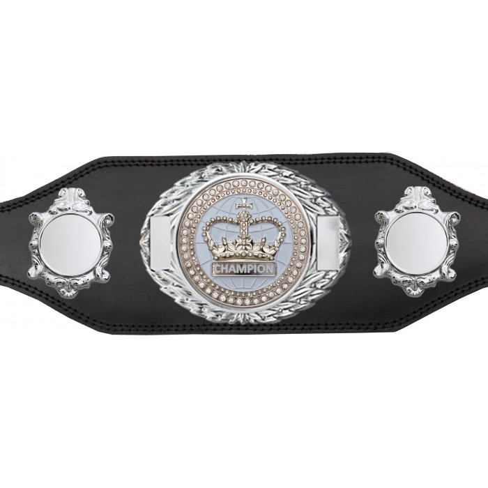 CHAMPIONSHIP BELT - BUD295/S/WHTGEM - AVAILABLE IN 4 COLOURS