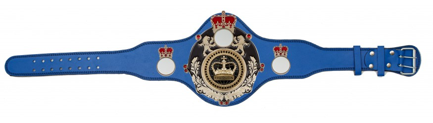 CHAMPIONSHIP BELT - PLTQUEEN/B/S/BLKGEM - AVAILABLE IN 4 COLOURS