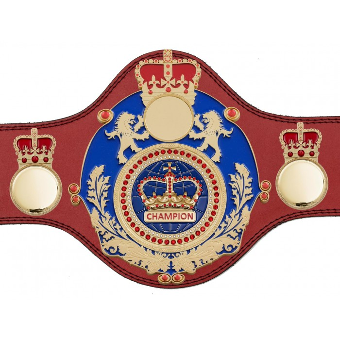 LIMITED EDITION CHAMPIONSHIP BELT - PLTQUEEN/B/G/BLUGEM - AVAILABLE IN 4 COLOURS