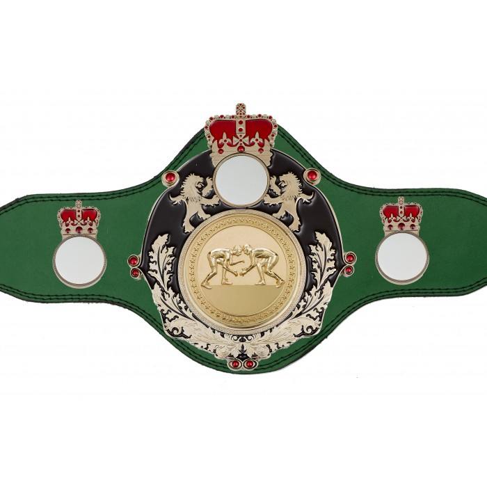 GRAPPLING CHAMPIONSHIP BELT-PLTQUEEN/B/S/GRAPG-4 COLOURS