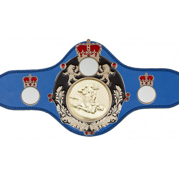 MMA CHAMPIONSHIP BELT-PLTQUEEN/B/S/MMAG-4 COLOURS