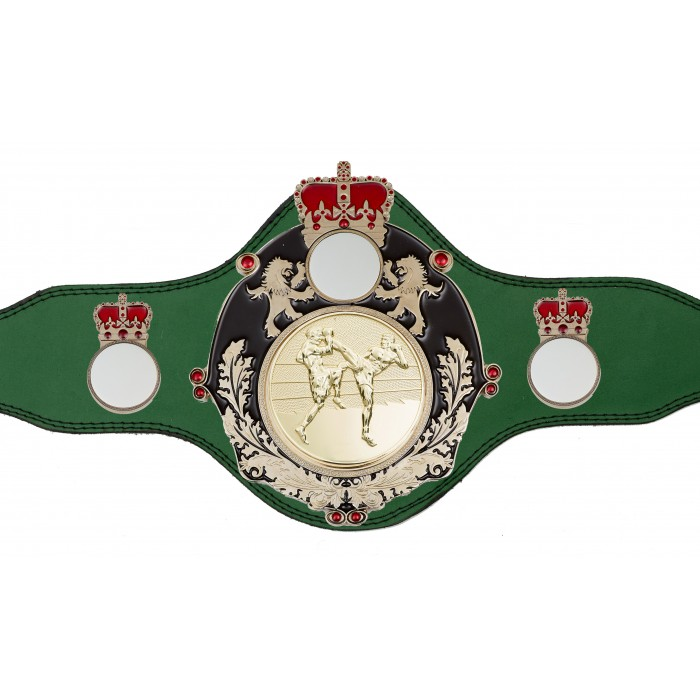 THAI BOXING CHAMPIONSHIP BELT-PLTQUEEN/B/S/TBOG-4 COLOURS