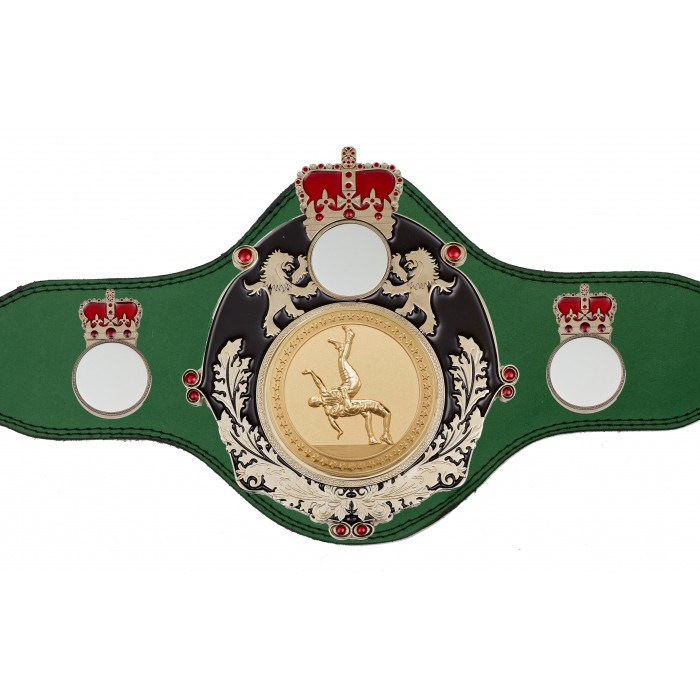 WRESTLING CHAMPIONSHIP BELT-PLTQUEEN/B/S/WRESTG - AVAILABLE IN 4 COLOURS