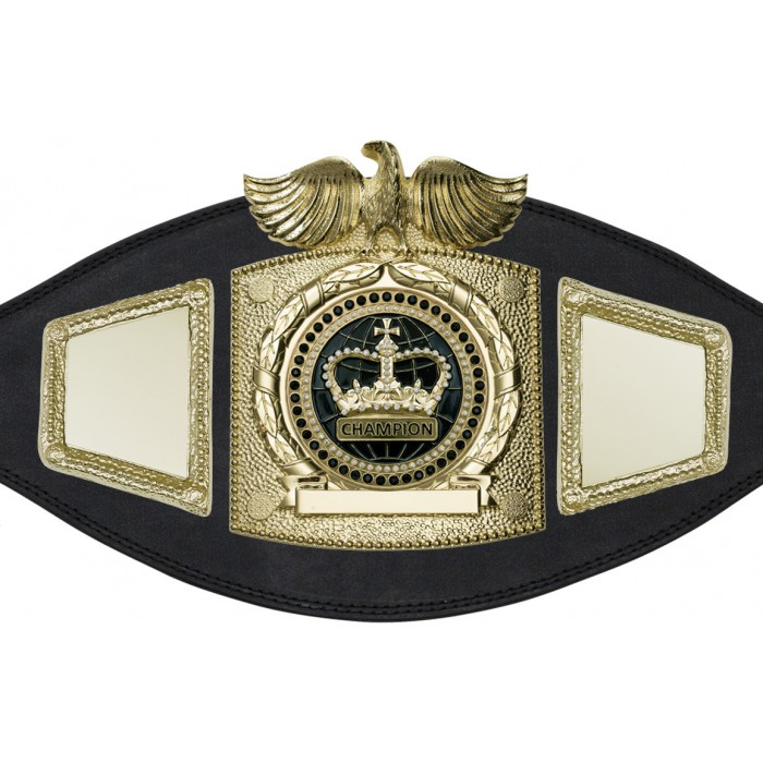 BOXING TITLE BELT - PLTEAGLE/G/BLKGEM