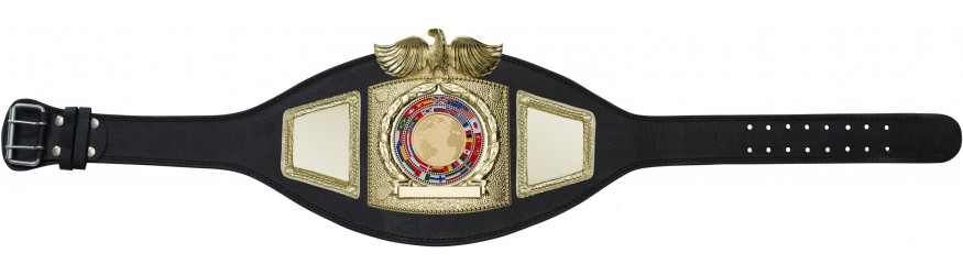 WORLD CHAMPIONSHIP BELT - PLTEAGLE/G/FLAG