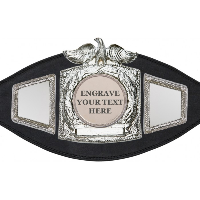 ENGRAVED TITLE BELT - PLTEAGLE/S/ENGRAVE