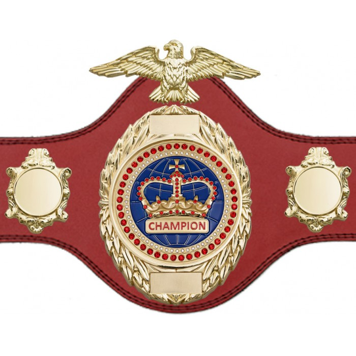 CHAMPIONSHIP BELT - PLT288/G/BLUGEM - AVAILABLE IN 4 COLOURS