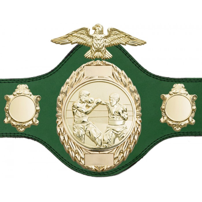 BOXING TITLE BELT - PLT288/G/BOXG - AVAILABLE IN 4 COLOURS