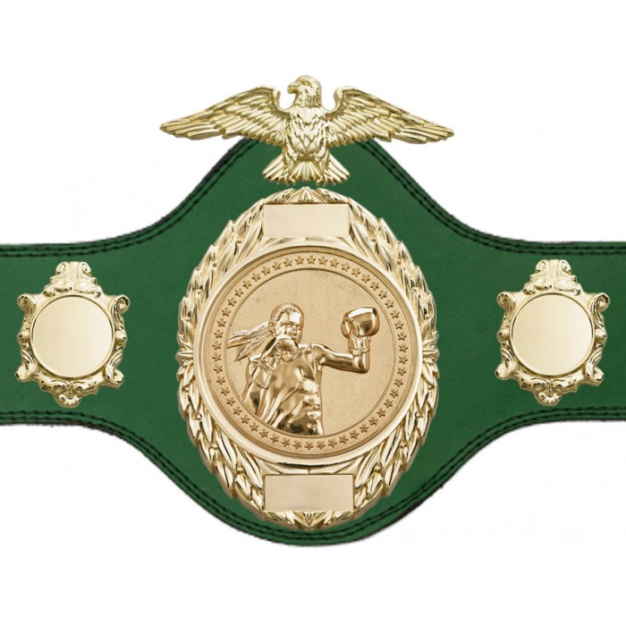 FEMALE BOXING CHAMPIONSHIP BELT-PLT288/G/FEMBOXG-4 COLOURS