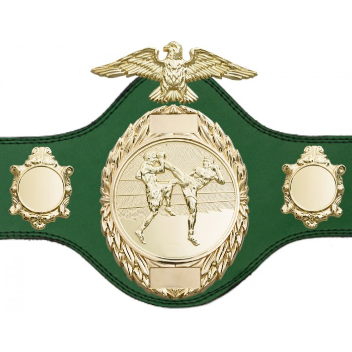 THAI BOXING CHAMPIONSHIP BELT-PLT288/G/TBOG-4 COLOURS