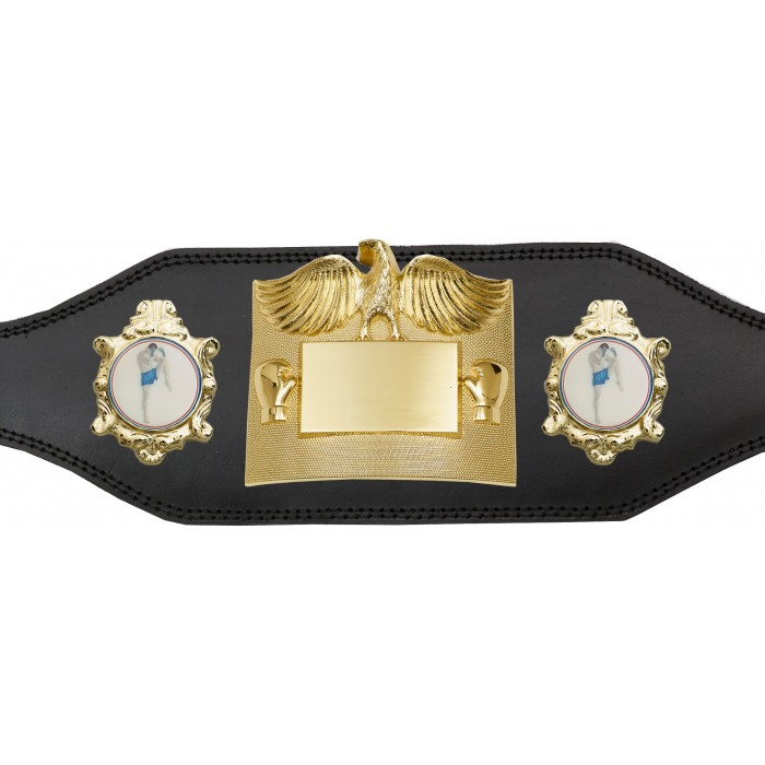 THAI BOXING CHAMPIONSHIP BELT-PLT299/G/THAI-4 COLOURS