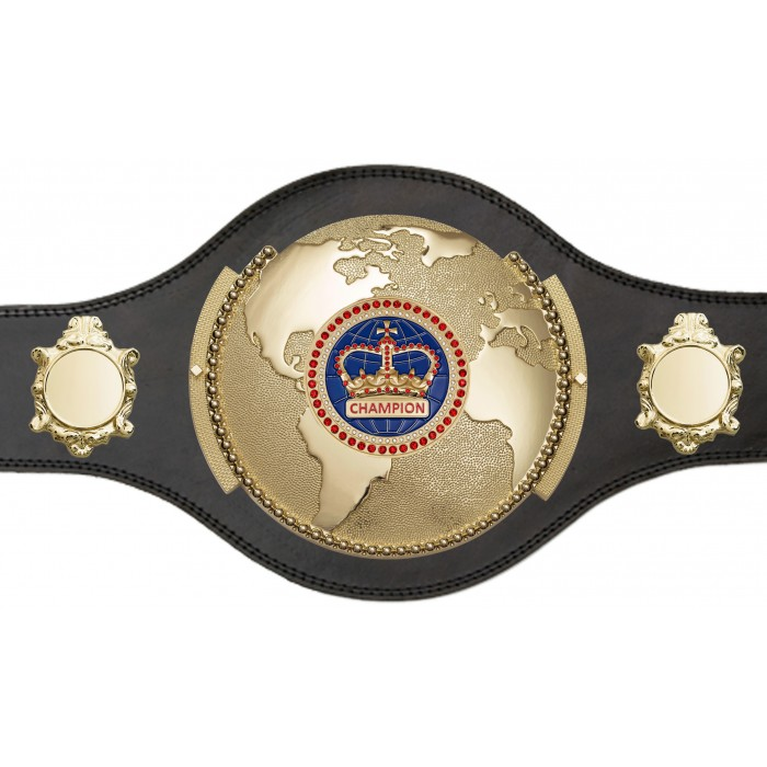 WORLD BOXING CHAMPIONSHIP BELT - PLT309/G/BLUEGEM