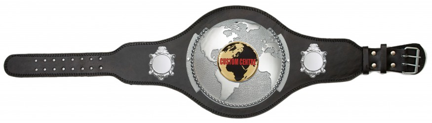 WORLD CUSTOM CHAMPIONSHIP BELT PLT309/S/CUSTOM