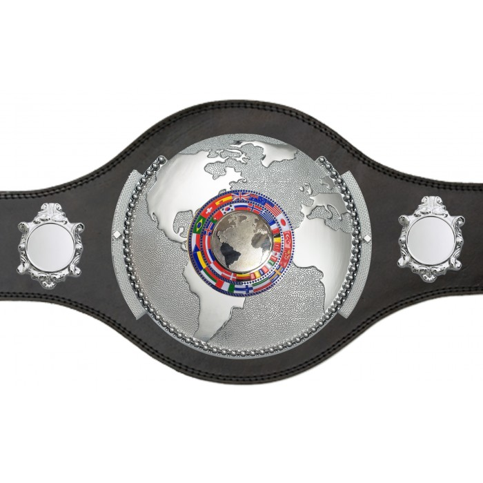 WORLD CHAMPIONSHIP BELT - PLT309/S/FLAGS