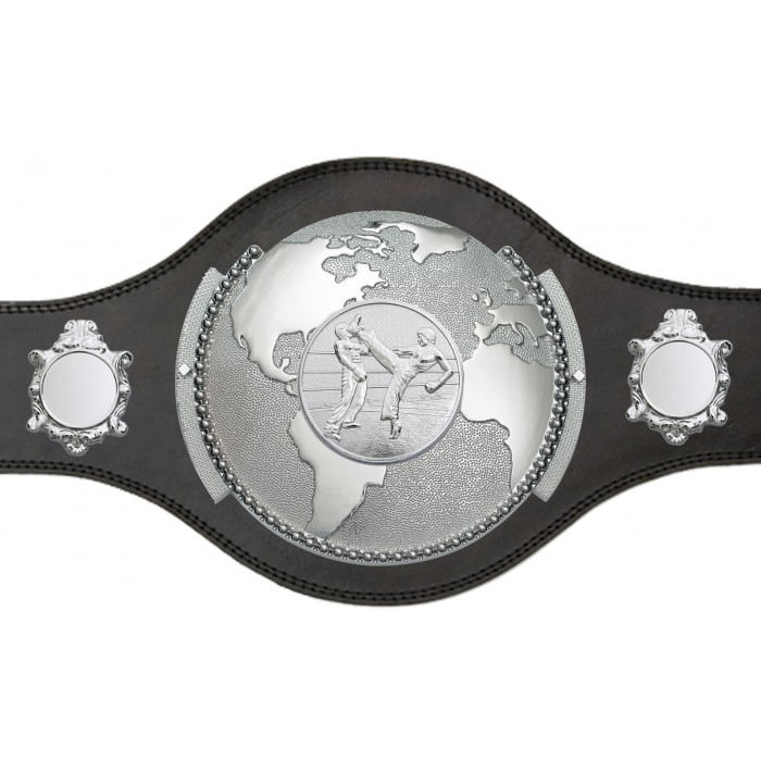 WORLD KICKBOXING CHAMPIONSHIP TITLE BELT - PLT309/S/KBOS