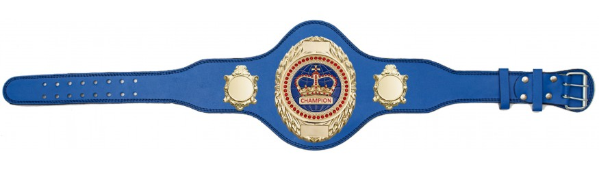 CHAMPIONSHIP BELT - PLT286/G/BLUGEM - AVAILABLE IN 4 COLOURS