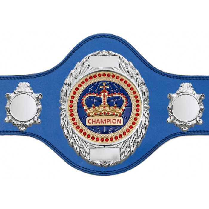 CHAMPIONSHIP BELT - PLT286/S/BLUGEM - AVAILABLE IN 4 COLOURS