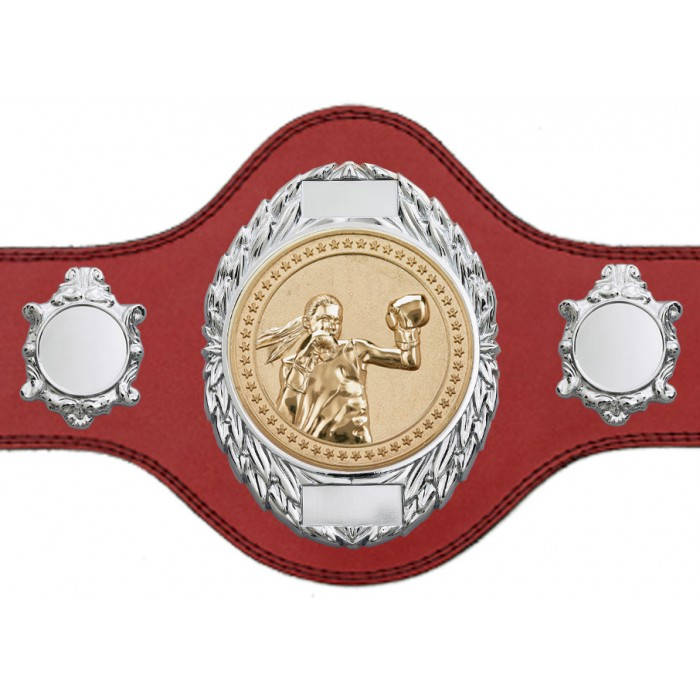 FEMALE BOXING CHAMPIONSHIP BELT-PLT286/S/FEMBOXG-4 COLOURS