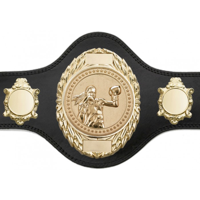 FEMALE BOXING CHAMPIONSHIP BELT-PLT286/G/FEMBOXG-4 COLOURS