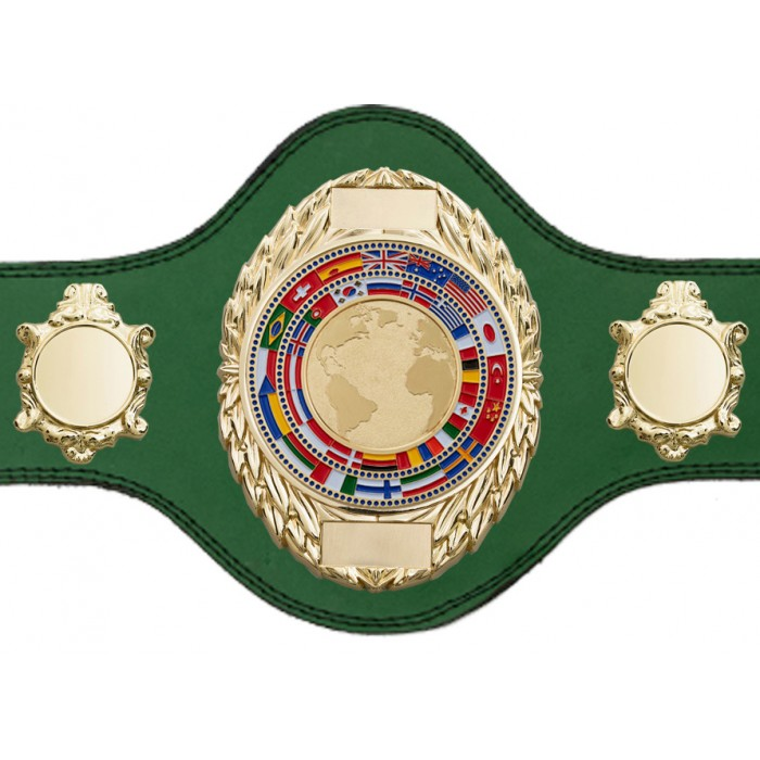 WORLD CHAMPIONSHIP BELT - PLT286/G/WORLD - AVAILABLE IN 4 COLOURS