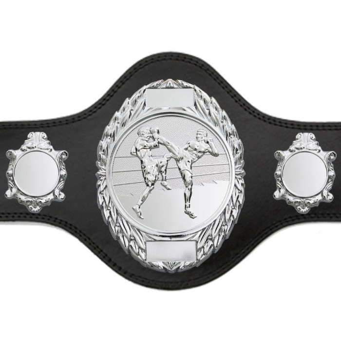 THAI BOXING TITLE BELT - PLT286/S/TBOS-4 COLOURS