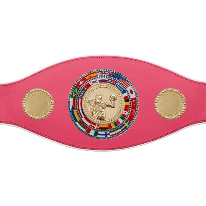 FEMALE CHAMPIONSHIP BELT-PROFLAG/FLAG/G/FEMBOXG-7 COLOURS