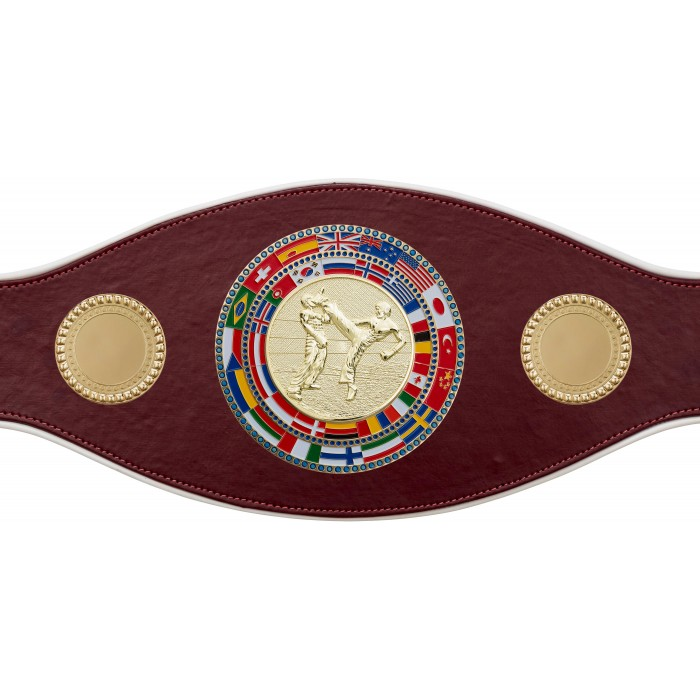 KICKBOXING CHAMPIONSHIP BELT-PROFLAG/FLAG/G/KBOG-7 COLOURS