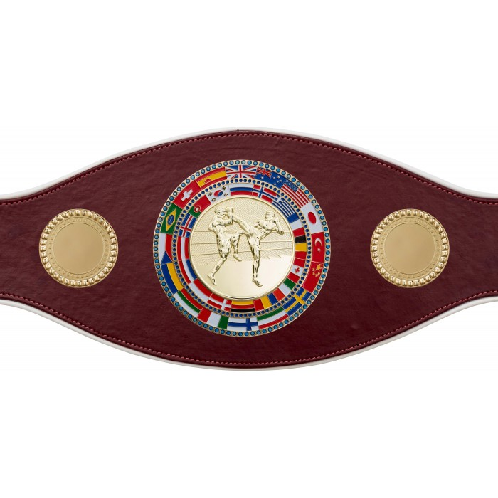 THAI BOXING CHAMPIONSHIP BELT-PROFLAG/FLAG/G/TBOG-7 COLOURS