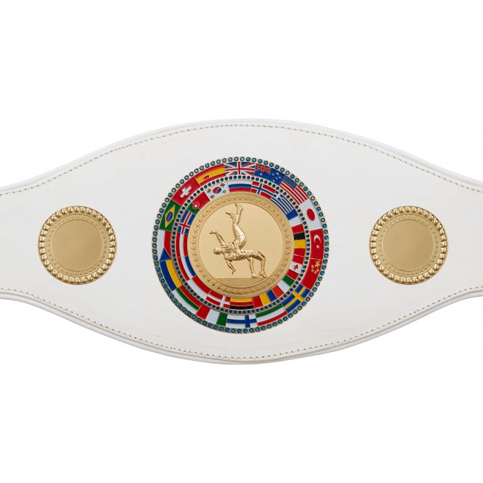 WRESTLING CHAMPIONSHIP BELT-PROFLAG/FLAG/G/WRESTG-7 COLOURS
