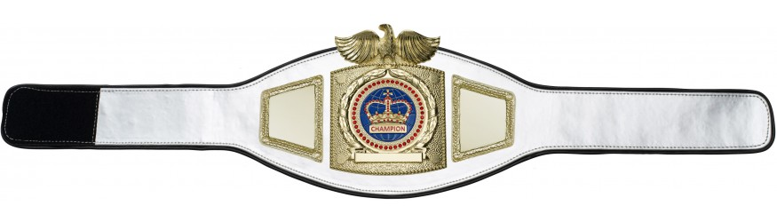 CHAMPIONSHIP BELT PROEAGLE/G/BLUEGEM - AVAILABLE IN 6+ COLOURS