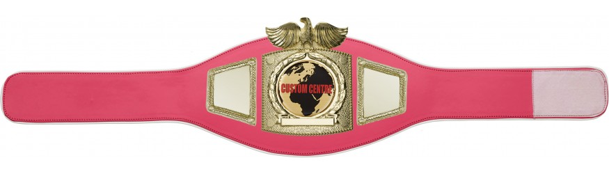 CUSTOM CHAMPIONSHIP BELT PROEAGLE/G/CUSTOM - AVAILABLE IN 8 COLOURS